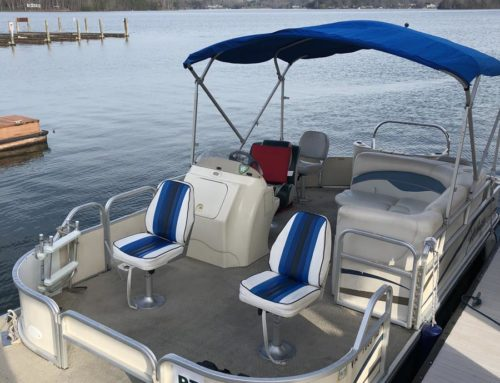 The Blue Pontoon is ready for action!